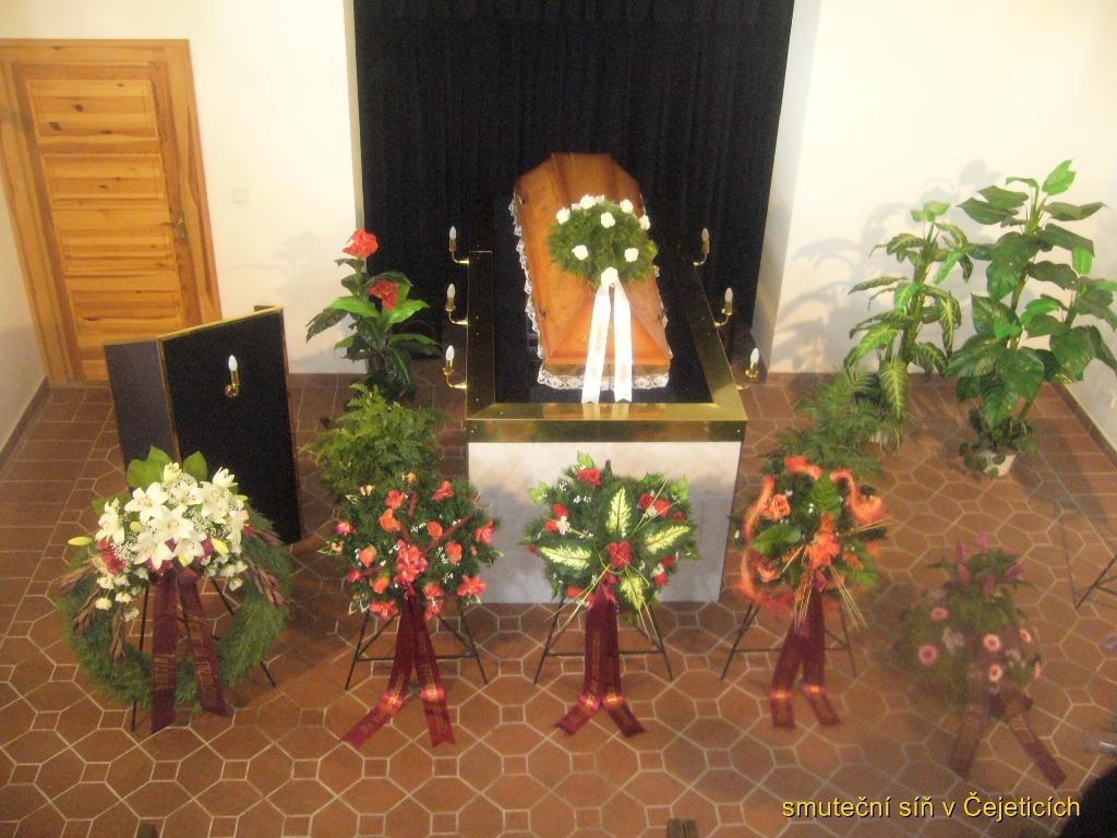 Pohřební ústav služby smuteční obřad síň kremace Kosmonosy Mladá Boleslav.