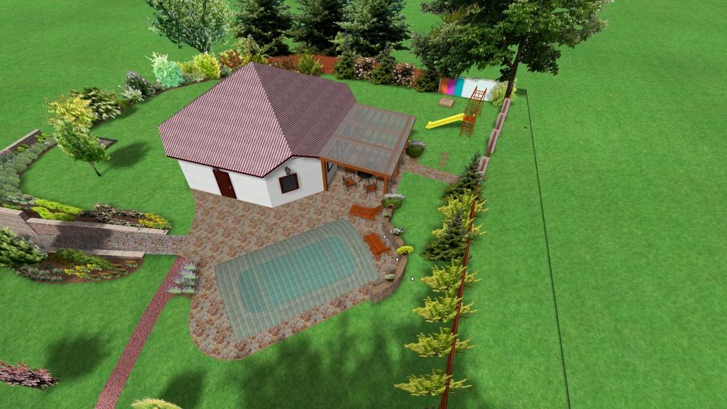 Návrhy a realizace zahrad Lande Praha