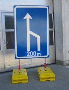 Provizorní dopravní značení a zařízení Praha