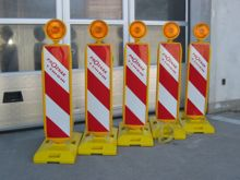 Provizorní dopravní značení a zařízení Praha pronájem