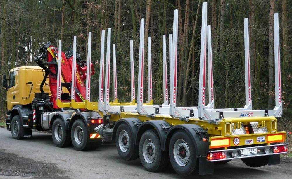 Produktion von Aufliegern und Anhängern für Holztranstport, Tschechische Republik