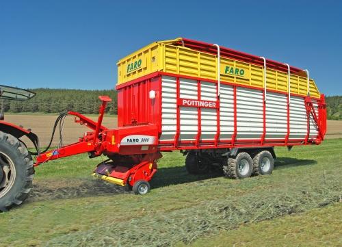 FARO - vozy pro sklizeň sena a slámy