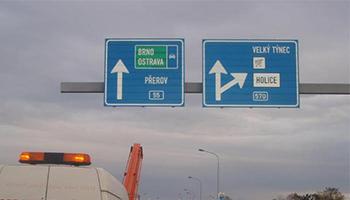 montáž, prodej dopravních značek Olomouc