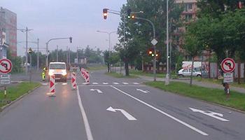 montáž, prodej dopravní značky Olomouc
