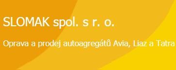 Oprava, prodej autogregátů, Liaz, Tatra, Avia, Karosa, Zlín