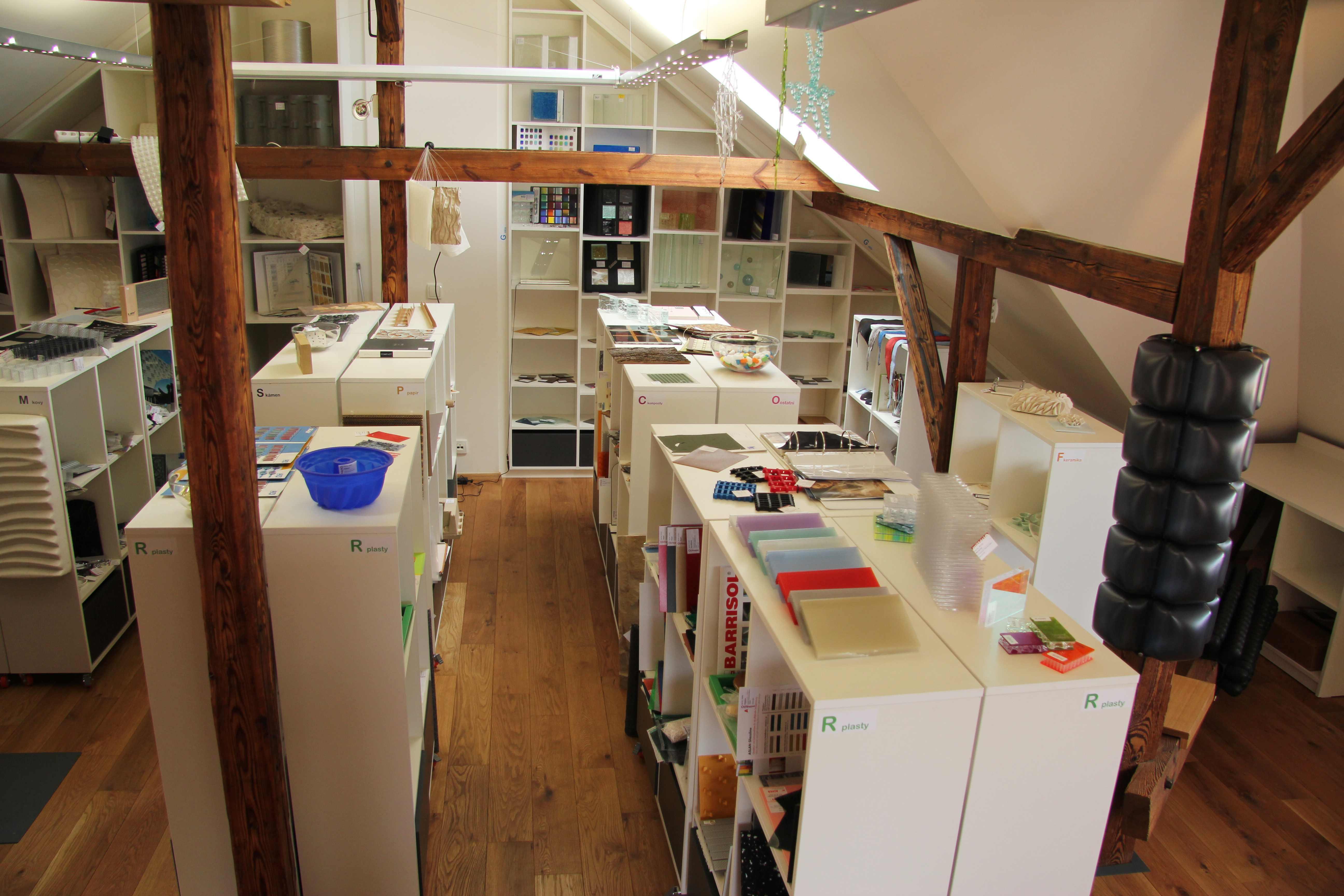 Knihovna materiálů Praha