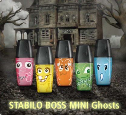 Prodej STABILO BOSS MINI Ghosts