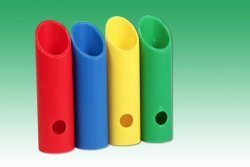 Spezielle Kunststoffrohre, Kunststoffplatten, Ummantelung von Leitern, PVC, Zlin Tschechische Republik