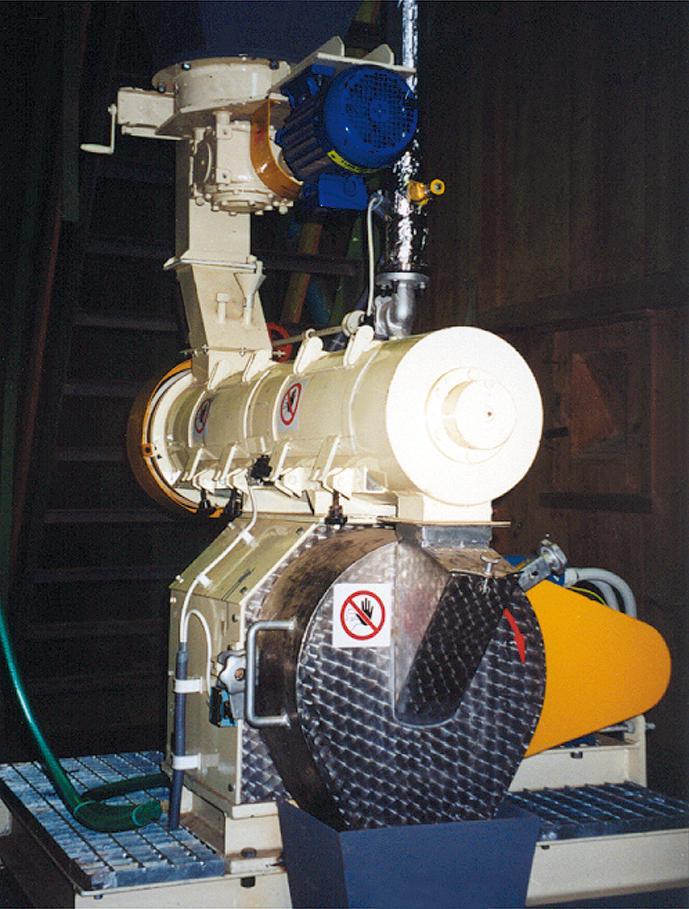 Zpracování biomasy, technologie pro zpracování krmných směsí
