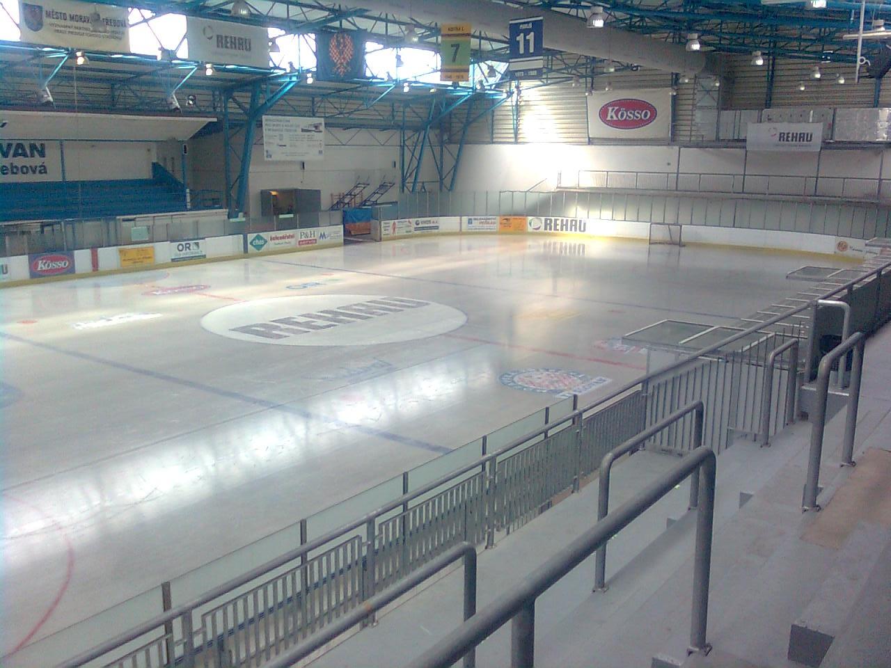 Bruslení na zimním stadionu Moravská Třebová