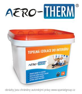 Termoaktivní izolace do interiéru AERO-THERM