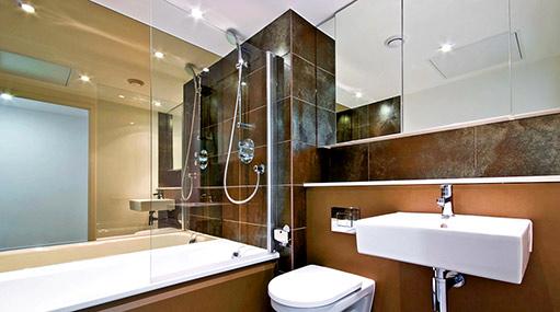 Rekonstrukce koupelen a bytových jader, prodej obkladů Olomouc