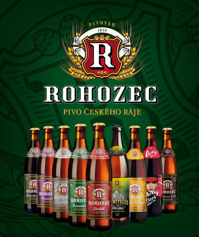 Sortiment piva Rohozec