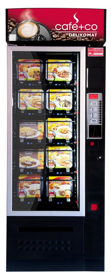 Automat na chlazená jídla – Damian Snack Europa