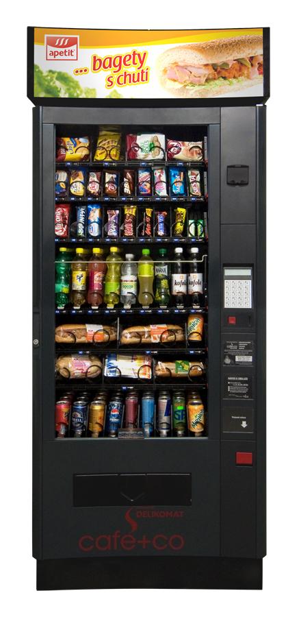 Svačinový automat – Damian LUCE X SNACK