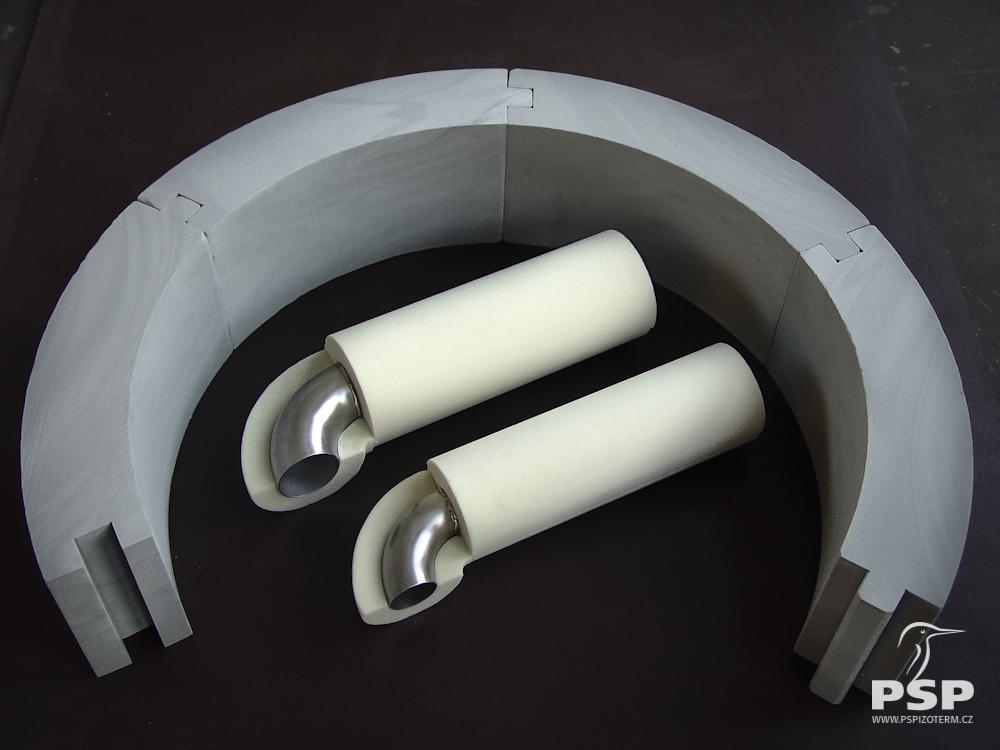 PSP Izoterm – polyuretanové desky, tvarová izolace potrubí Vysoké Mýto