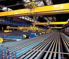 Crane, railway, tram, mine rails - delivery, assemblies, installation, the Czech Republic