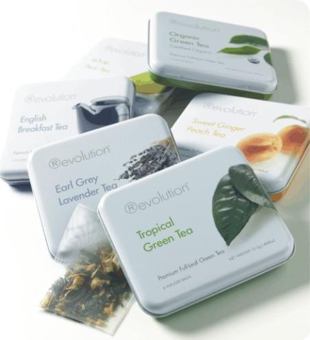On-line prodejna porcelánu a čajů revolution tea