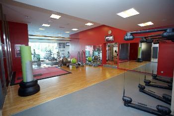 Fitness - zázemí