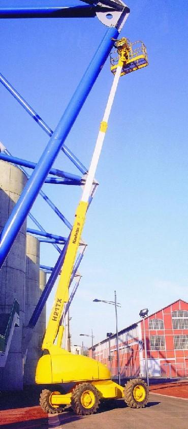 Praha prodej servis teleskopické plošiny s JIB ramenem