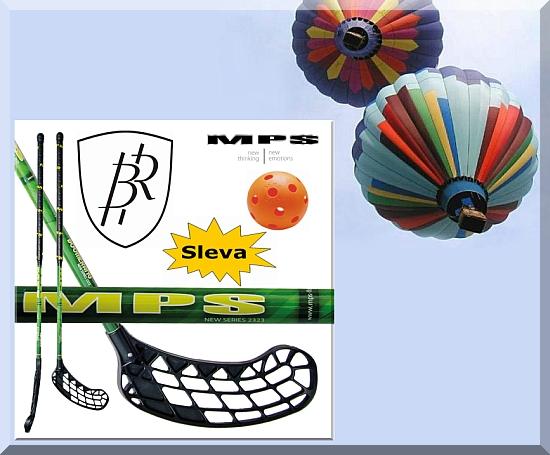 Florbal pro školy = florbalová hůl BOOMERANG fibre + míček zdarma