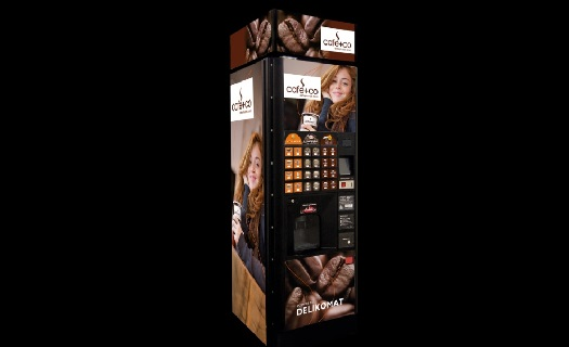 Automat na kávu a teplé nápoje COFFEE TO GO po celé ČR