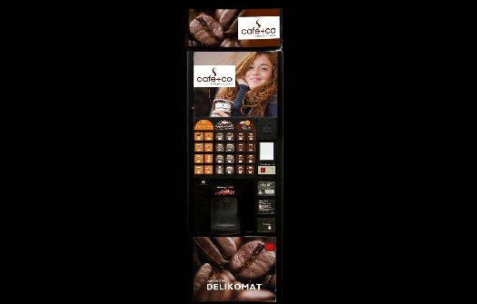 Automat na kávu a teplé nápoje, servis a údržba