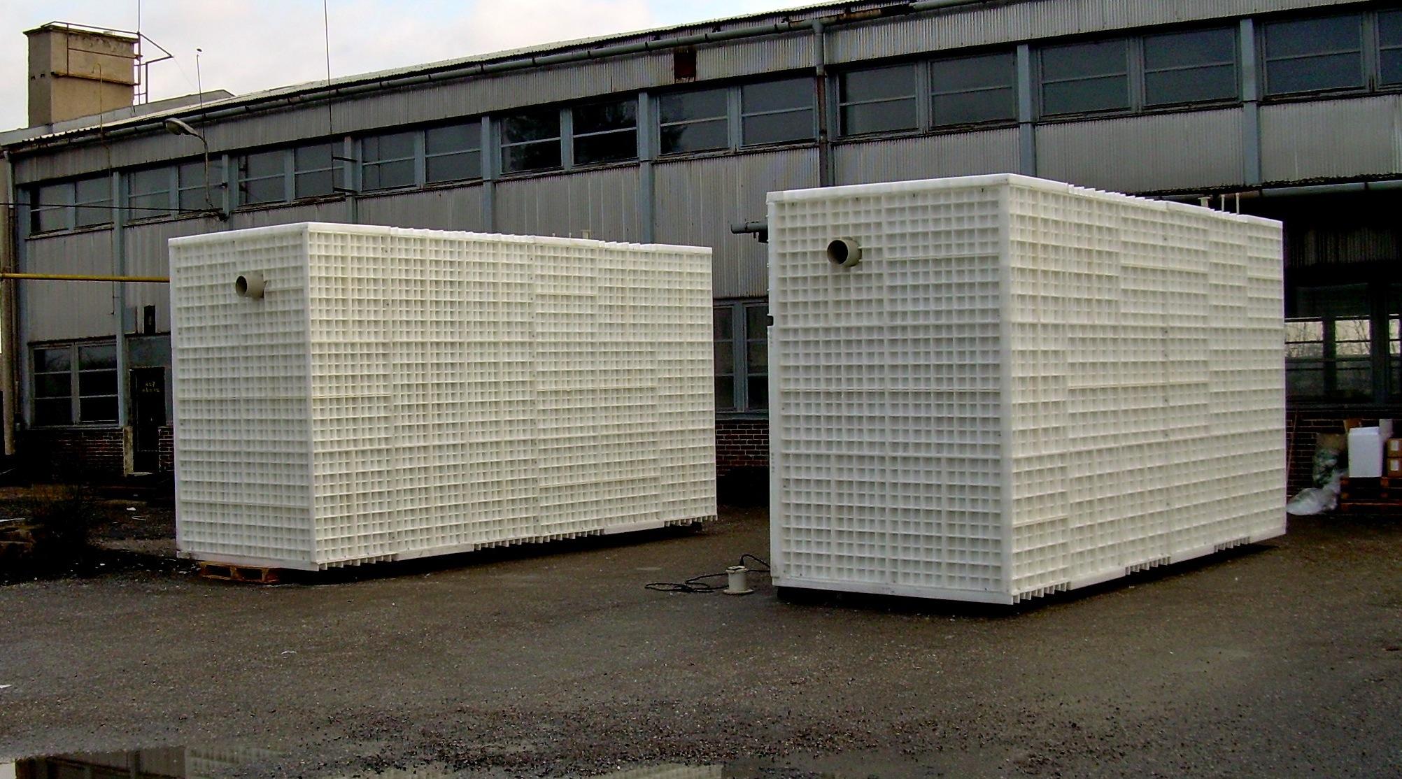 Výroba plastových nádrží na zakázku - jímky, žumpy, septiky