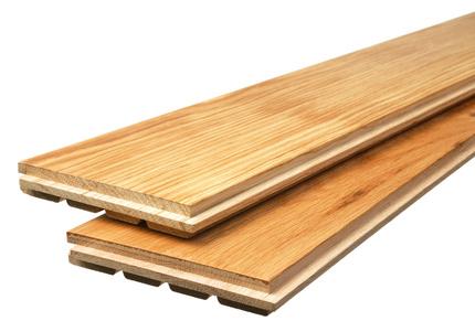 Palubky pro masivní podlahy s tepelně izolačními vlastnostmi