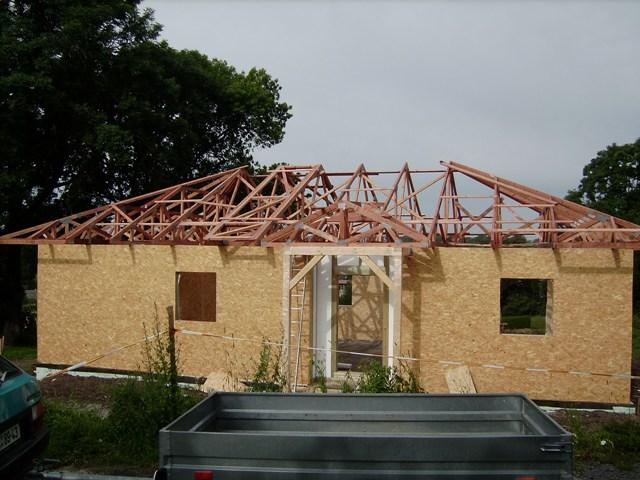 Projektové služby -střešní dřevěné konstrukce a dřevostavby