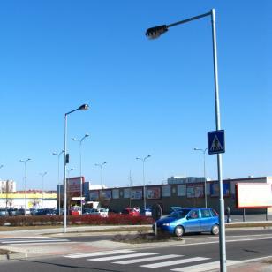 veřejné ocelové stožáry Strachotín
