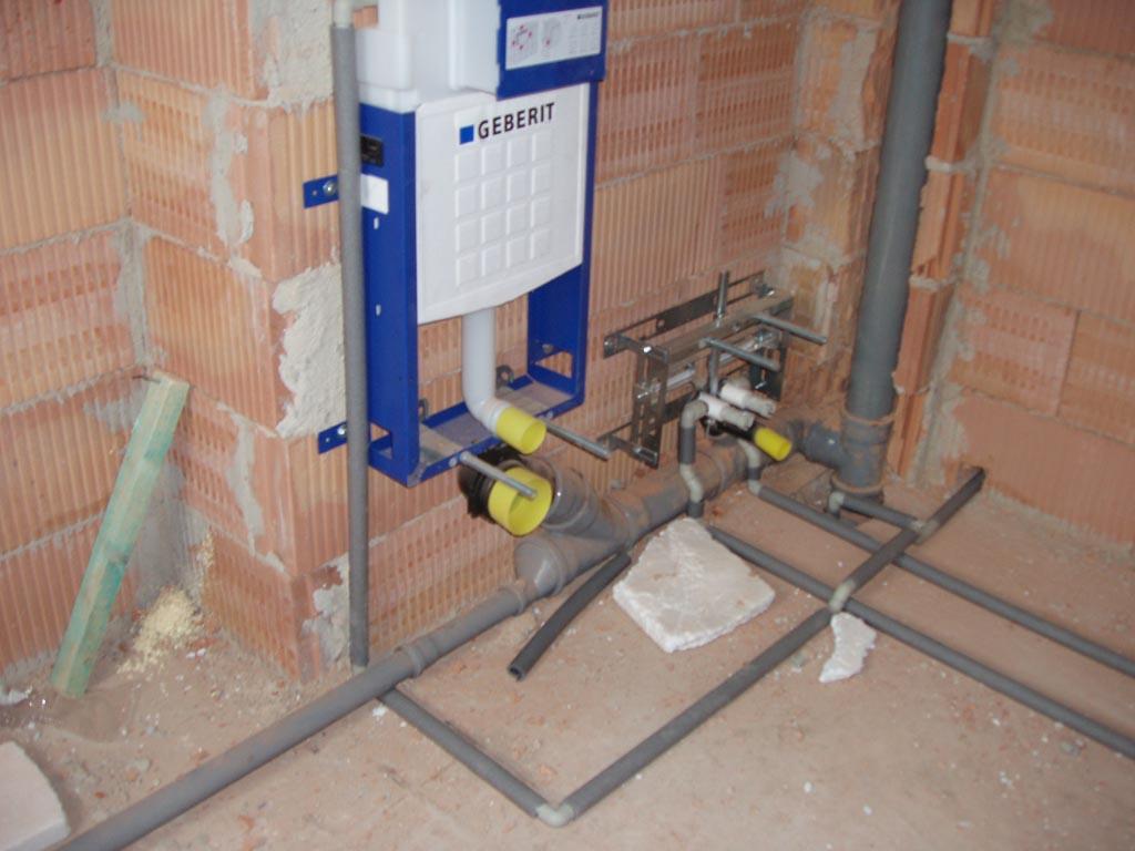 Kvalitní instalatérské práce, rozvody vody a odpadů