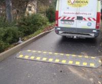 Zpomalovací prahy, retardéry Olomouc - pro zpomalení dopravy