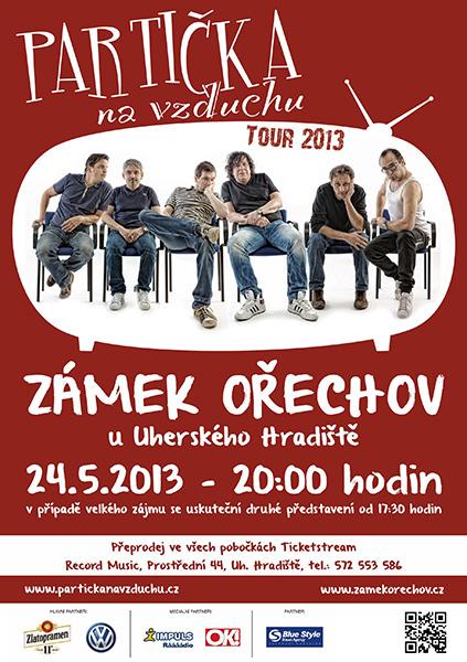 Partička na vzduchu, představení na Zámku Ořechov u Uherského Hradiště
