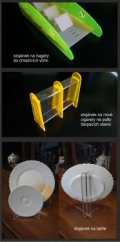 Výrobky z plexi, plexiskla, plexi stojánky, plastové reklamní stojánky