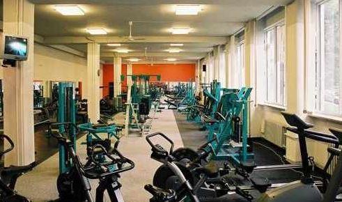 Součásti víceúčelové sportovní haly  - fitness centrum