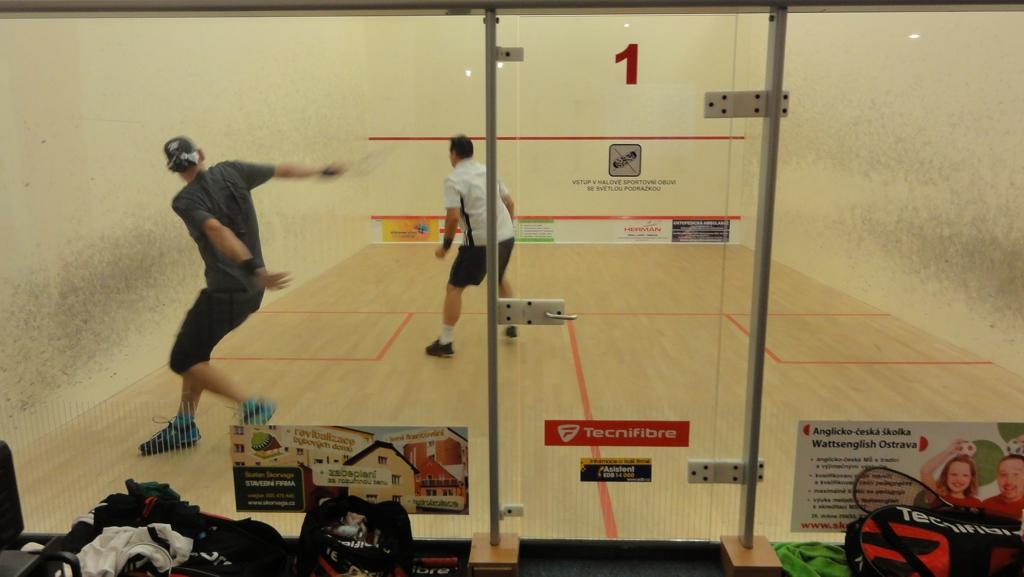 Squash –squashové turnaje Ecosun Tour 2013, Ostrava – Zábřeh, centrum Havránek