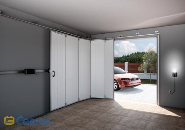 posuvná garážová vrata - Zlínský kraj