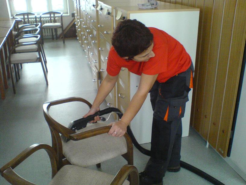 čištění čalouněného nábytku Zábřeh