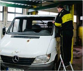 Výměna čelního skla Praha + bonus - vyluxování vozidla+vyčištění klimatizace za 100 Kč