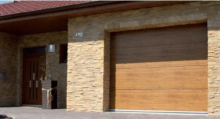 Sekční garážová vrata VEKRA Elegant výroba prodej