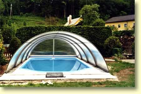 Zastřešení pro venkovní plastové bazény a zimní zahrady