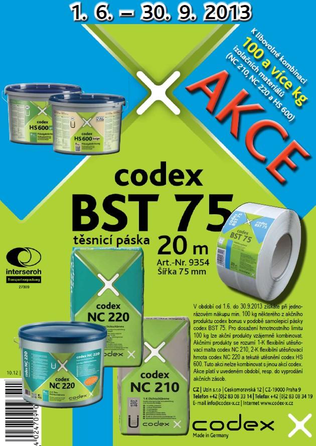 AKCE codex; Kombinace, která se vyplatí!