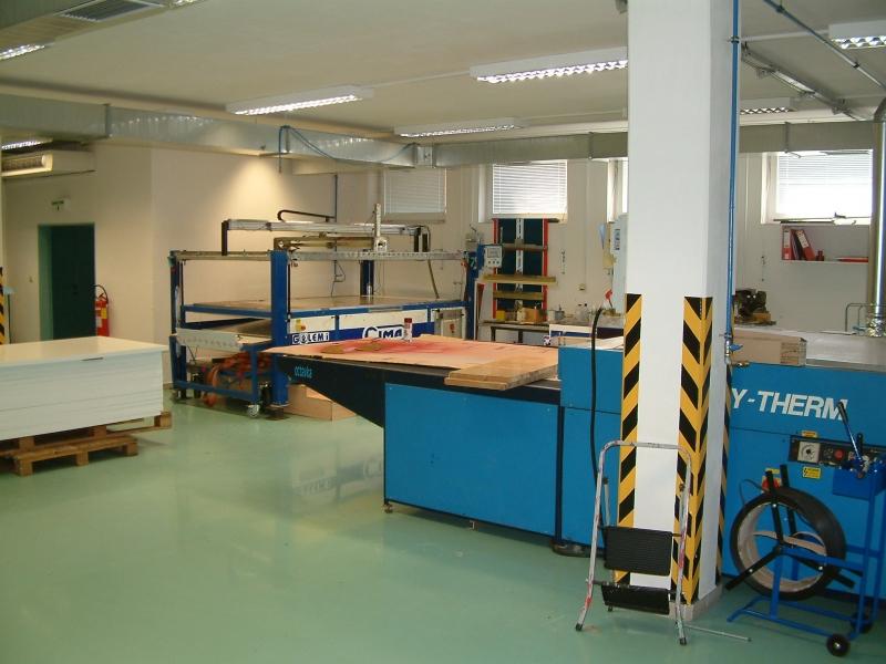 výrobní prostory - V PRINT