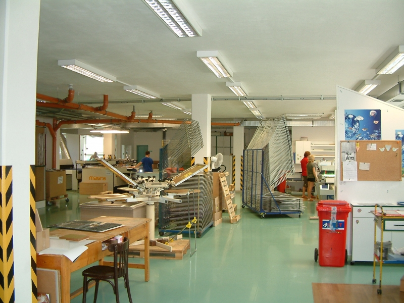 výrobní provoz - V PRINT