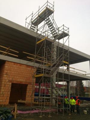 Prodej schodišťové věže Cuplok, R-modul Ostrava, Brno