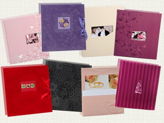 Velkoobchod fotoalba a rámy na fotky svatební, dětské, letní a jiné Vsetín