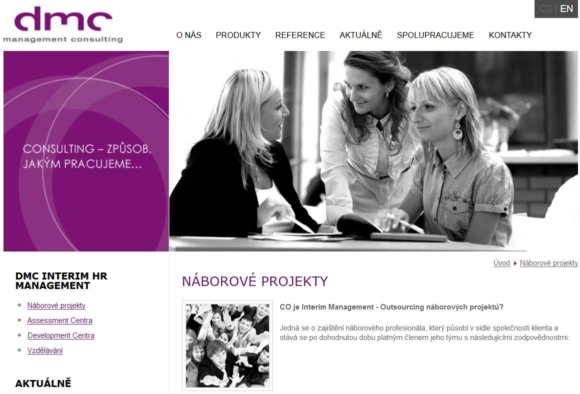Náborové projekty, outsourcing náborových projektů