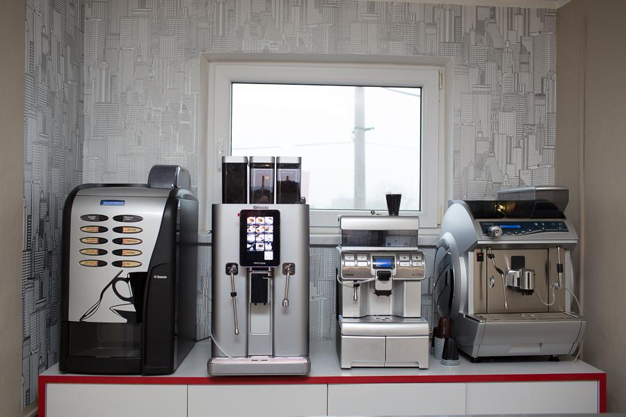 Profesionální kávovary pro kavárny