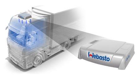 Kompresorem poháněná střešní klimatizace pro kamiony a nákladní automobily